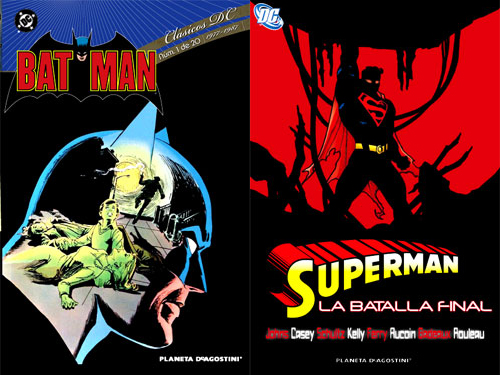 Batman y Superman la batalla final