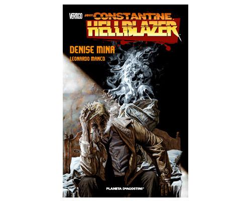 Hellblazer Denise Mina, portada