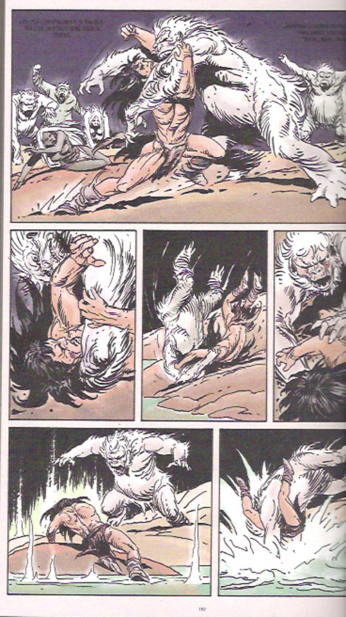 Interior de Tor de Joe Kubert