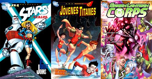 JSA - Jóvenes Titanes - Green Lanterne Corps