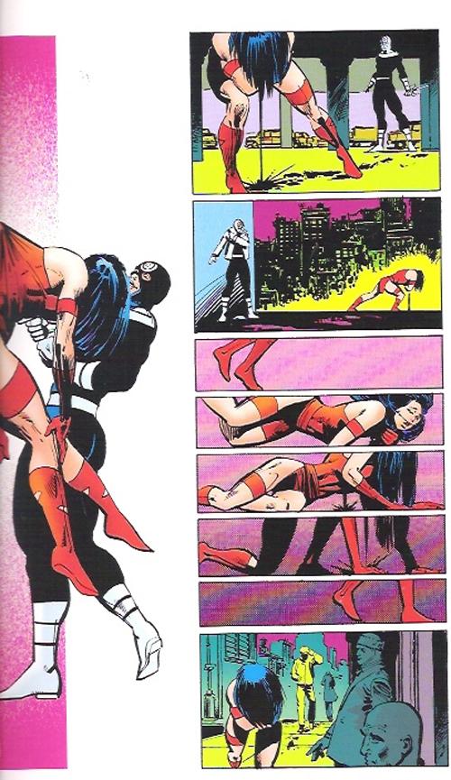 daredevil-la-ultima-mano, la muerte de Elektra