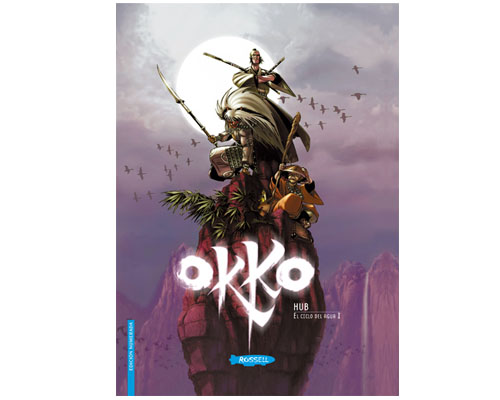 Okko, Tomo 1, El ciclo del agua I, portada