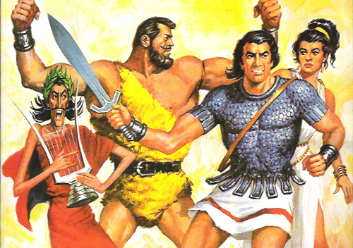 jabato, esclavos de Roma