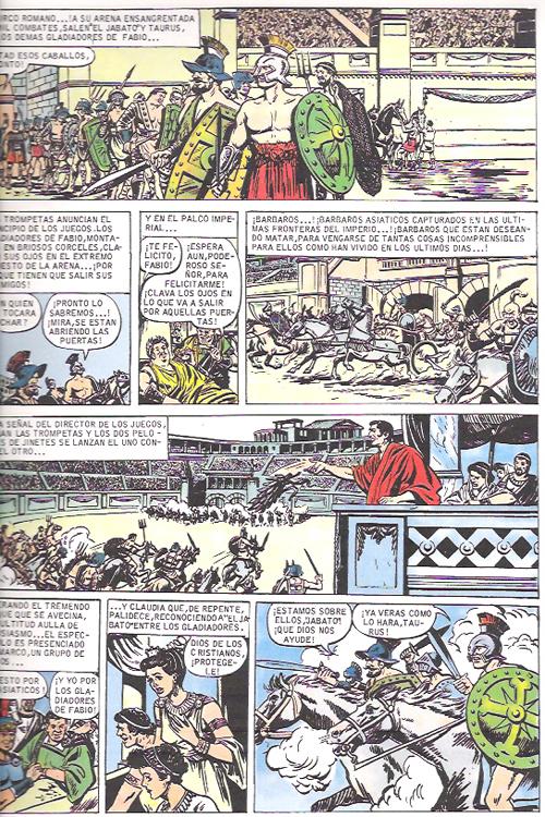 jabato esclavos de Roma interior