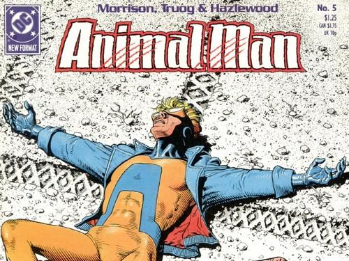 Animal man tendrá una nueva serie