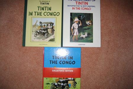 Tintín en el Congo no es un cómic racista