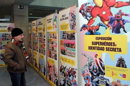 Exposicion Superheroes Identidad Secreta