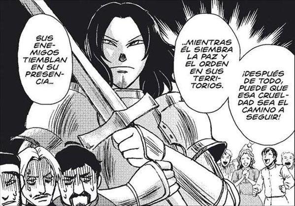 el Principe de Maquiavelo en cómic