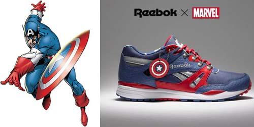 Capitan America Reebok