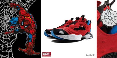 Spiderman Reebok