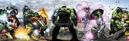 World War Hulk Integral, en Marvel deLuxe
