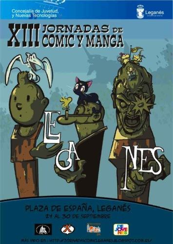 XIII Jornads Comic y Manga de Leganes