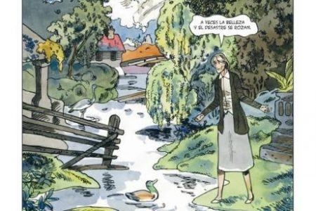 Virginia Woolf, una biografía en cómic