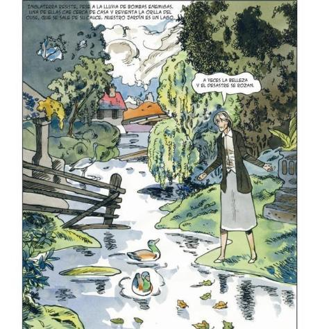 Comic de Virginia Woolf