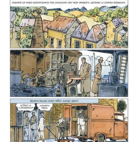 Virginia Woolf en comic 2