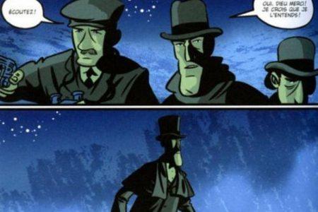 El perro de los Baskerville, en cómic