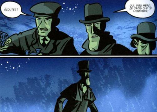 El perro de los Baskerville en comic
