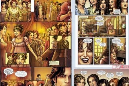 Orgullo y Prejuicio, también en cómic