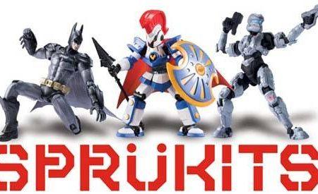 SprüKits, la nueva línea de Bandai de figuras de acción