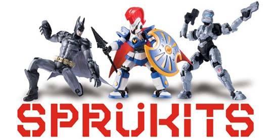 Sprukits de Bandai